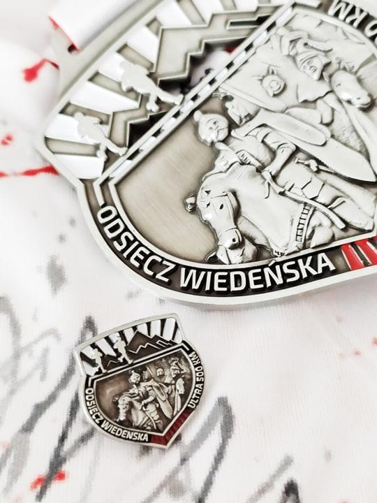 Medal i pins Odsiecz Wiedeńska, bieg wirtualny