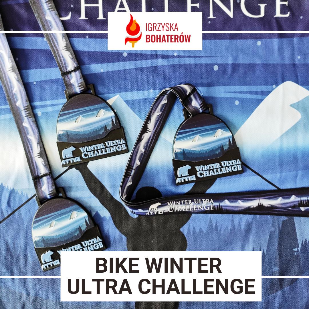 Medal za wyzwanie wirtualne - Bike Winter Ultra Challenge