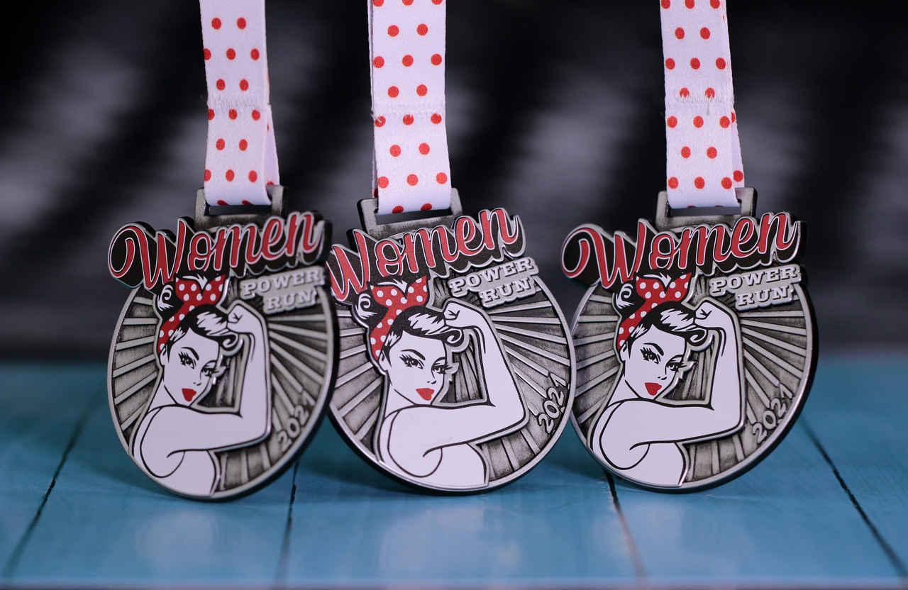 medale bieg kobiet